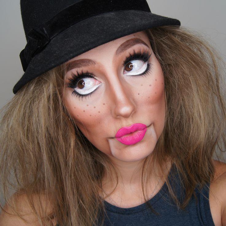 Makeup Geek Blushes in Heart Throb and Main Squeeze + Makeup Geek Eyeshadow in Bada Bing, Corrupt, Latte, Mocha and Vanilla Bean. Look by: Kayla Matisi