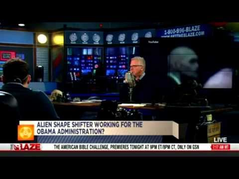 OOPS... Video of Obama's shapeshifter agent hits MSM and Glenn Beck trie...