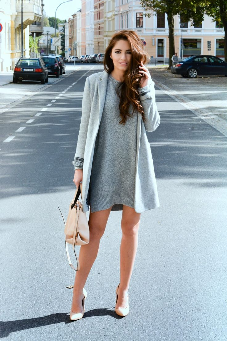 Trend Alarm: This Fall, Gray is The New Black ... Awesome monochromatic look