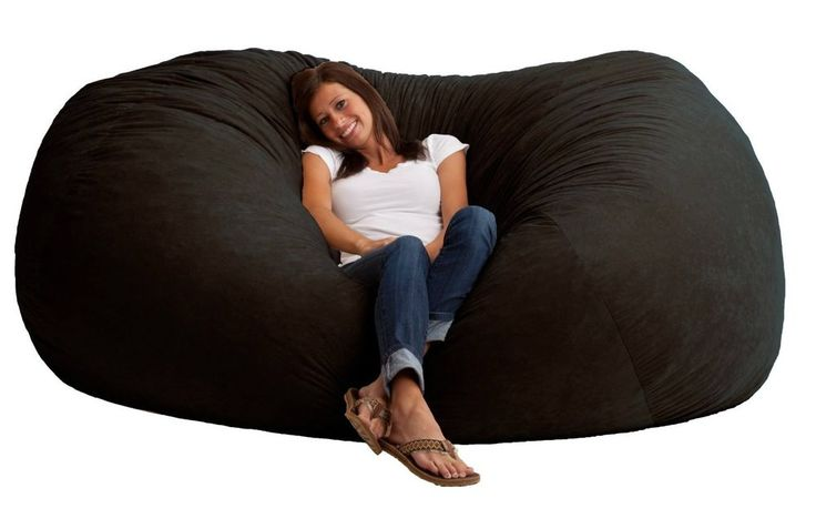 xxl 7 39 bean bag comfort chair soft cushion love seat sofa couch bed livingroom pinterest. Black Bedroom Furniture Sets. Home Design Ideas