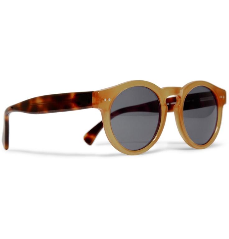 IllestevaIllesteva Style, Brown Tortoies, Round Frams Sunglasses, Illesteva Leonard Round Frams, Stainless Metals, Tortoies Arm, Roundfram Sunglasses, Eyewear, Camel Face