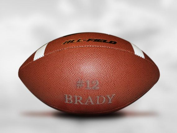 Customized Personalized Laser Engraved  Nike Football
