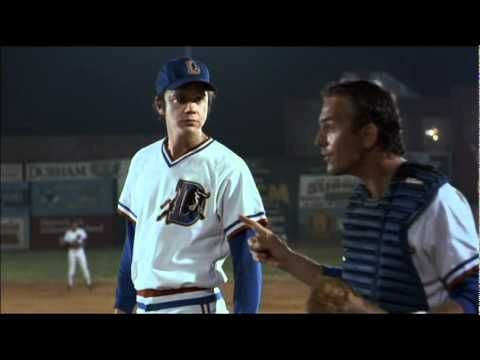 Bull Durham - Throw it at the Bull- does this remind anyone of Aroldis Chapman? Sweet.