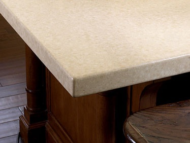 Caesarstone buttermilk countertop this is manufactured for Manufactured quartz countertops cost