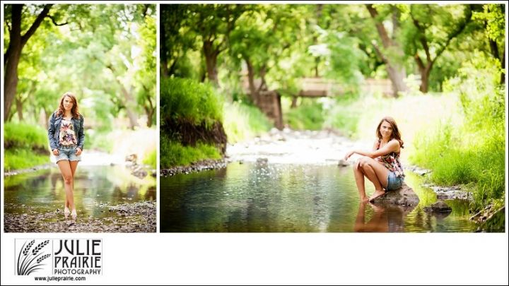 Sioux Falls Photography - Country girl in the water, Senior portraits, Senior style, Senior girl poses