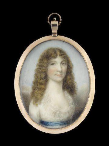 Julia Seton, as a young Lady