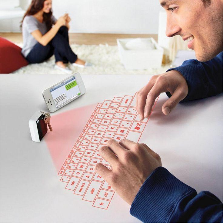 Have you ever typed on laser? - http://noveltystreet.com/item/1134/
