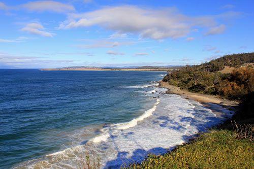 Mayfield Bay near Swansea Tasmania