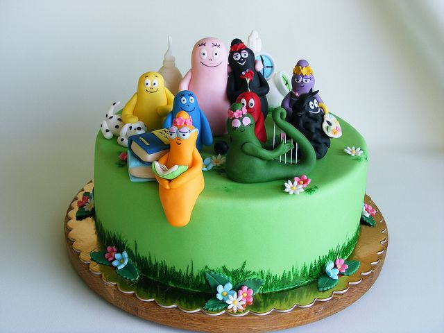 Barba family cake | Flickr - Photo Sharing!