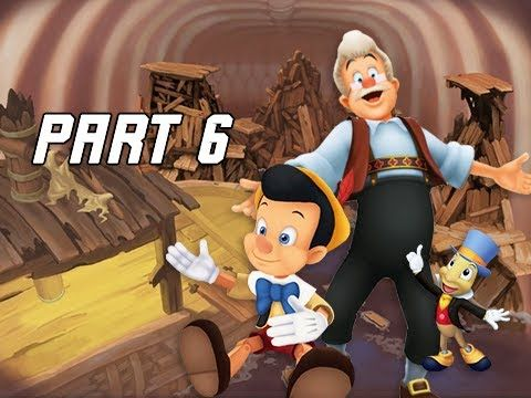 Kingdom Hearts 1.5 Walkthrough Part 6 - Monstro & Pinocchio (PS4 Let's Play)