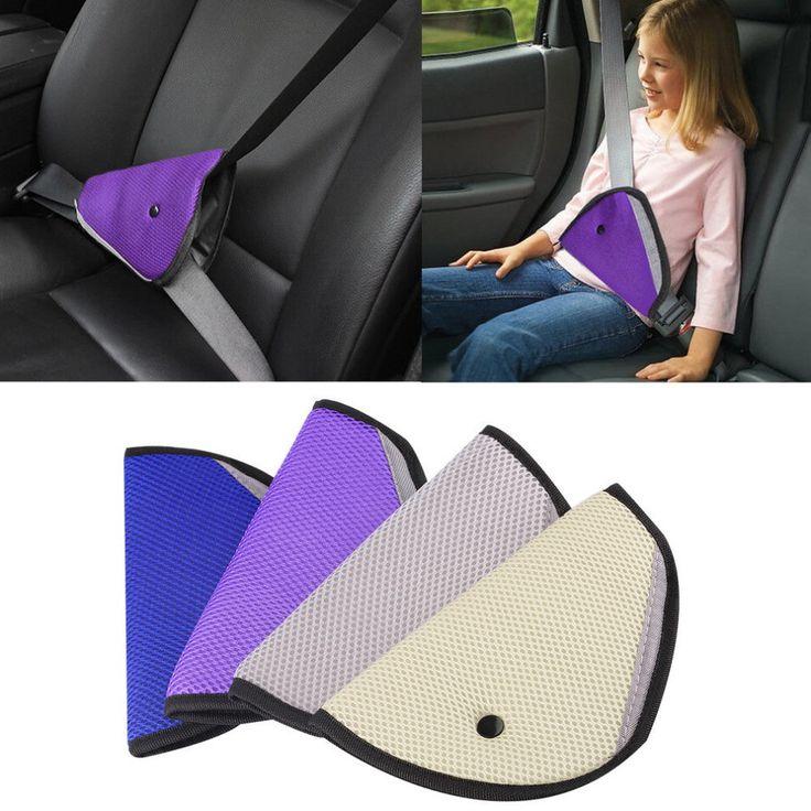 Children Seat Belt Clip - Car Safety Cover Strap Adjuster Pad Harness