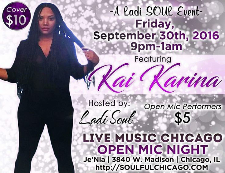 Chicago Events This Weekend: Live Music Chicago featuring Kai Karina Tonight! Are you looking for something to do this weekend? Specifically tonight! Well, I