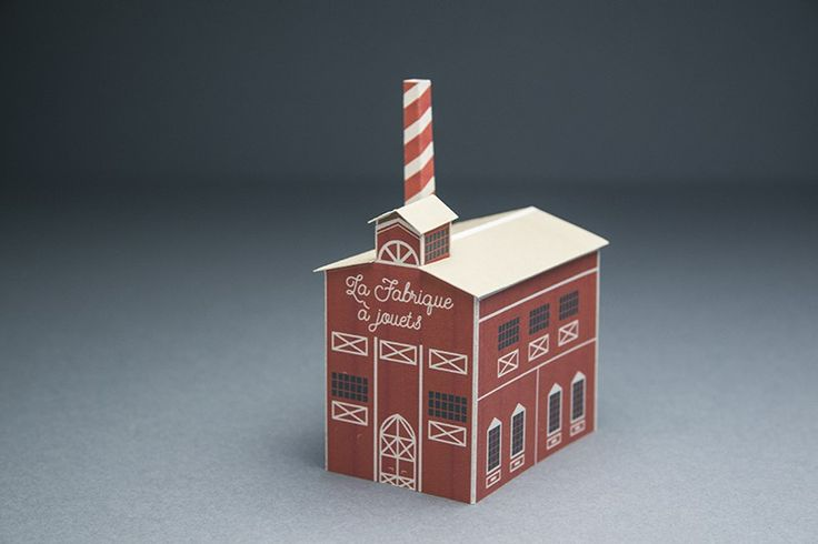 DIY de Noël, la fabrique à jouets Facile à faire, en famille, pour un effet magique sur votre déco de Noël Une création PAT, pour Créations Françaises, le blogzine de la création made in Francediy - fabrique à jouets - Créations Françaises-DIY-noel-papercraft