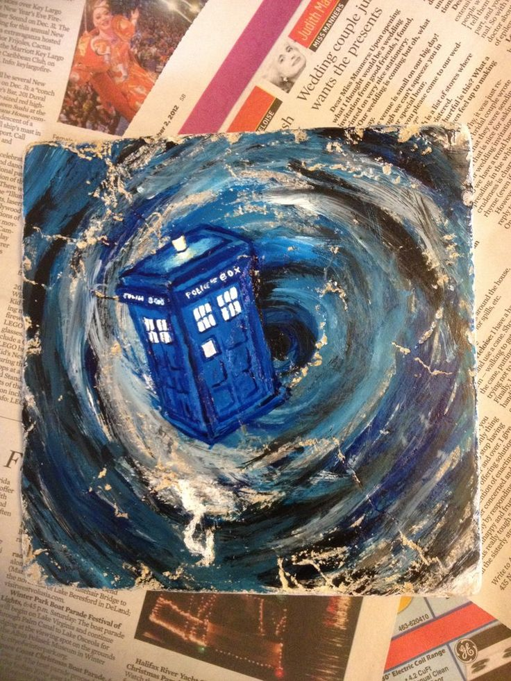 """Tardis through the Time Vortex II by EvilMooseArt"" another quilt inspiration"