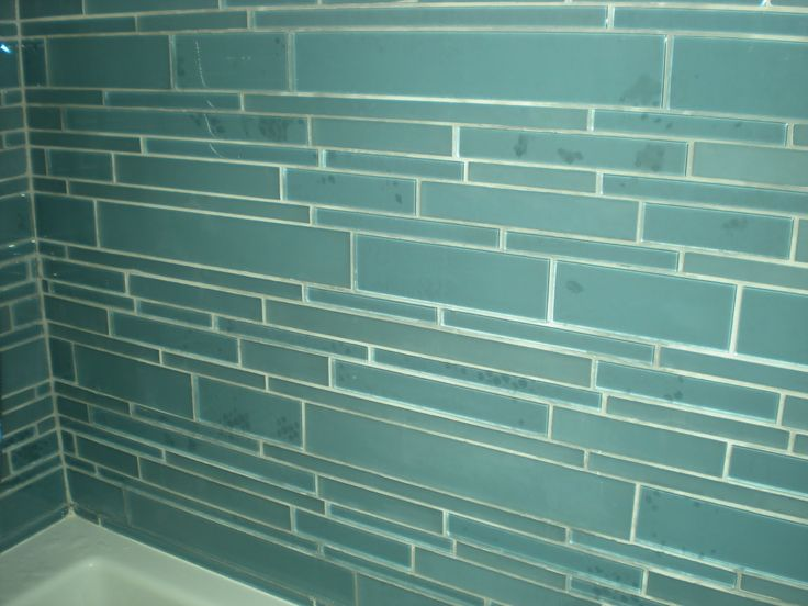 glass tile showers   FJ Smith Contracting Corp.: Glass Tiled Bathroom
