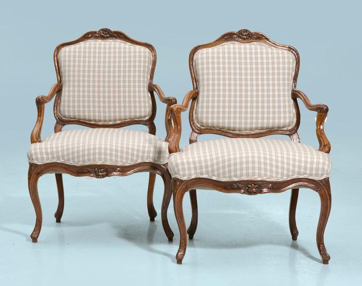 Fotocaption2407 mobiliario s xvii xviii francia luis - Silla luis xiv ...