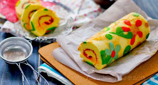 Suka menggambar? Bisa kok menggambar pada kue juga. Beneran? Lihat resep Japanese Roll Cake ini. Menggambar, tapi jadinya kue, lutjuuuuu.. Bukan sulap, bukan sihir. Cobain yuk! Basic Japanese Roll Cake Fatmah Bahalwan Bahan A (untuk membuat motif): 2 buah putih telur 20 gr gula 20 gr tepung maizena 20 gr tepung terigu Bahan B: 6 butir kuning telur 60 gr gula 65 cc minyak 100 cc susu cair 125 gr tepung terigu ½ sdt vanila Bahan C: 4 butir putih telur 40 gr gula 25 gr tepung maizena Filling…