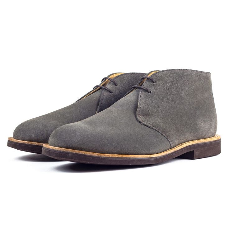 Mark McNairy Grey Suede Chukka Boots | Style and shoes | Pinterest ...