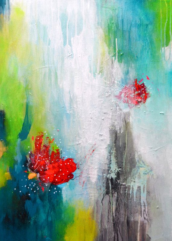 73 best peinture images on Pinterest Abstract art, Abstract - peinture epaisse pour mur