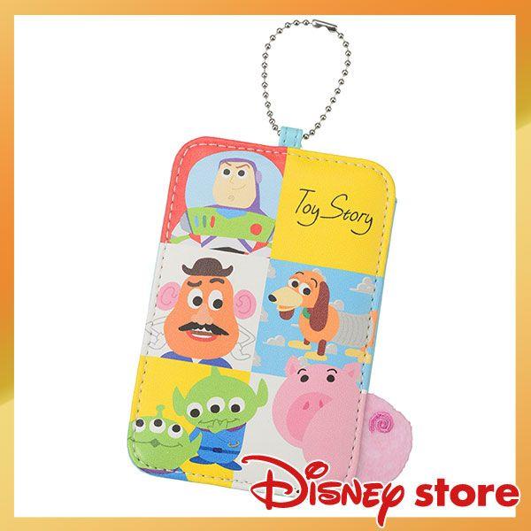 【Disney Store ディズニー公式】。定期入れ・パスケース トイ・ストーリー Back to School
