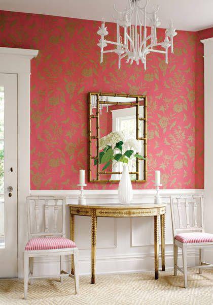 88 best THIBAUT Wallpaper, Fabrics images on Pinterest | Paint, Wall ...