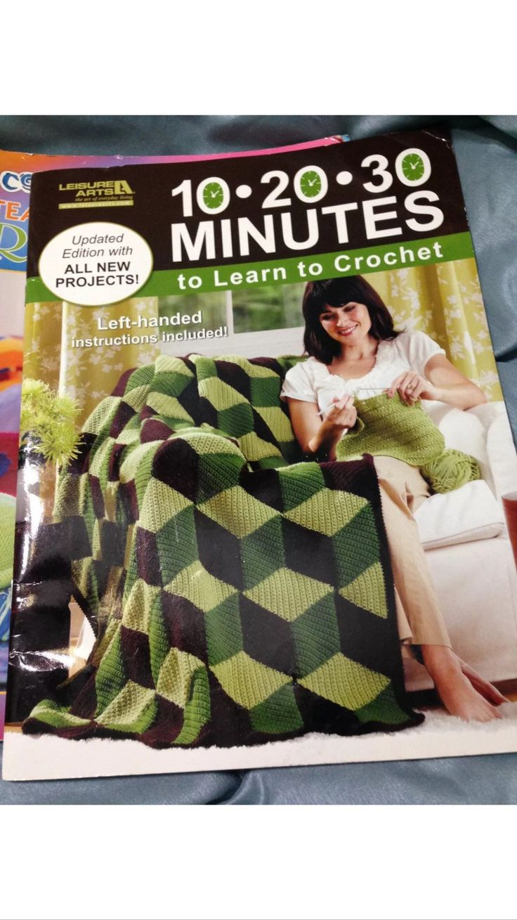 10-20-30 Minutes to Learn To Crochet - Leisure Arts by OddlyandVintage on Etsy