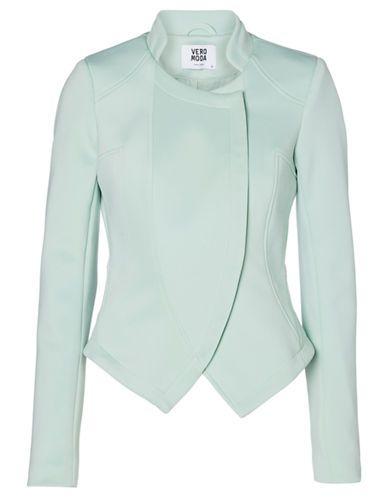 Vero Moda | Donna Asymmetrical Zip Blazer | Hudson's Bay