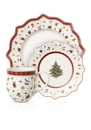 Serving bowls dinnerware and toys on pinterest for Villeroy boch christmas