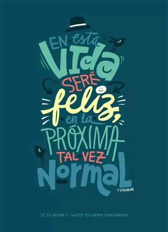 Ser feliz ✿⊱╮Teresa Restegui http://www.pinterest.com/teretegui/✿⊱╮