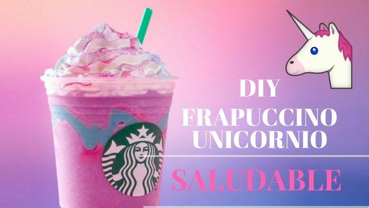 DIY: Frapuccino Unicornio Saludable
