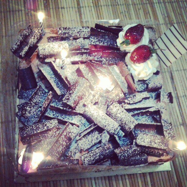 Mom's birthday #birthday #cake #breadtalk