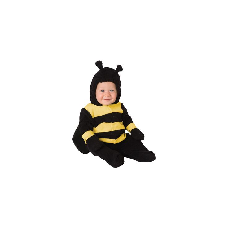 Halloween Toddler Bumble Bee Costume 6-12M, Toddler Girl's, Size: 6-12 Months, Yellow