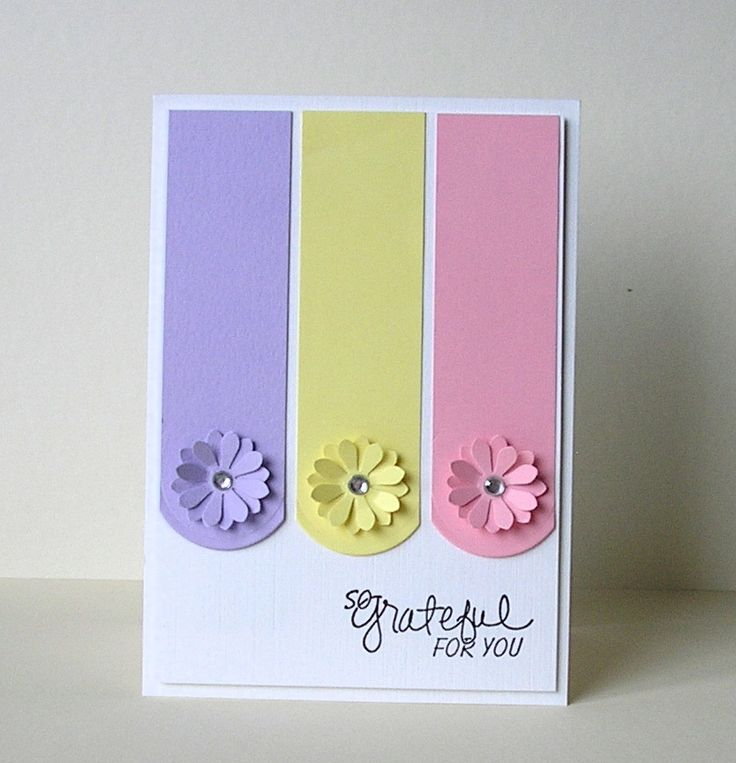 Morning all! In complete contrast to yesterdays bright and bold offering, I`ve made a much more delicate, springlike thank you card. I`ve ...