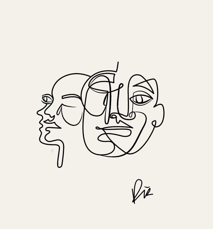 Awareness #linedrawing #art #illustration