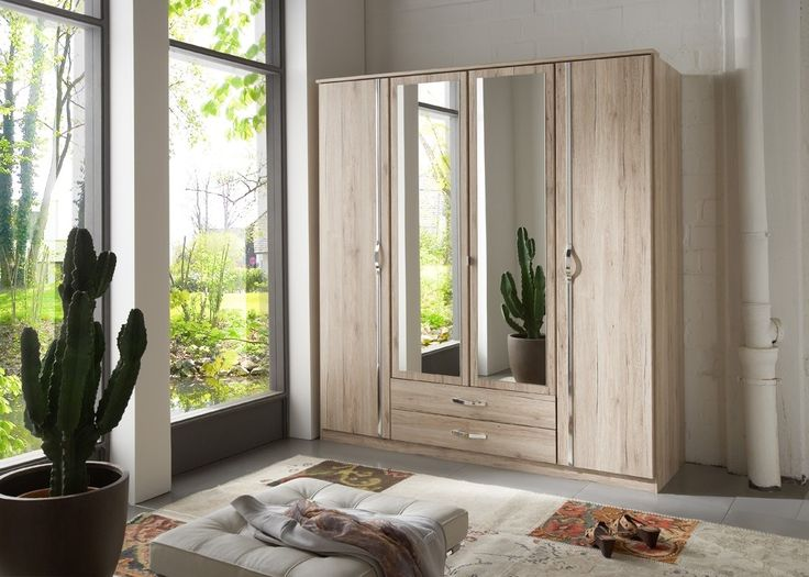 Cute Kleiderschrank Duo cm San Remo Eiche Buy now at https