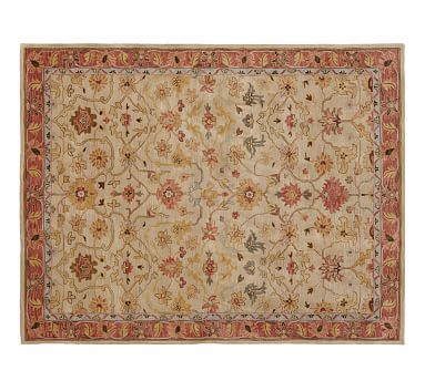 Elham Persian-Style Rug #potterybarn