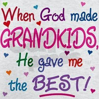 When God made Grandkids....