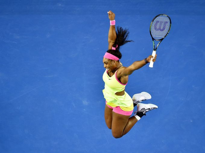 Serena Williams - 19th Grand Slam title - still chasing the record of 22 set by Stefi Graf