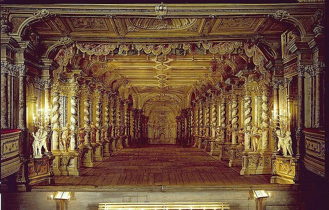 Baroque Theater at the Český Krumlov castle by burnlab, via Flickr