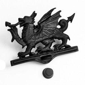 Black Iron Welsh Dragon Door Knocker - Iron Door Knockers - Door Knockers - Door Furniture - Hardware - Catalogue | Black Country Metal Works