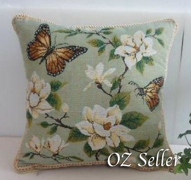 Shabby Chic Butterfly Cushion Cover Decorative Pillows