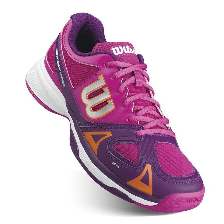 Wilson Rush Pro Junior Girls' Tennis Shoes, Size: 12, Pink