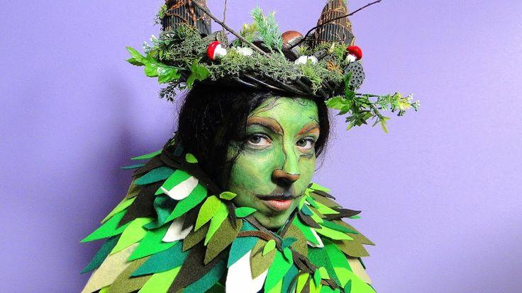 Machiaj de carnaval - zana fauna 🎭