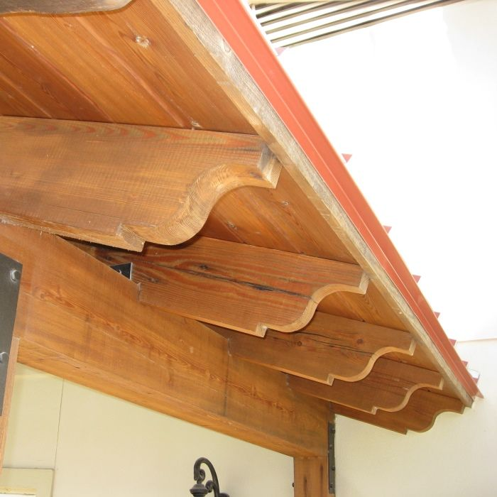 Roof pinterest 26 for Decorative rafter tails