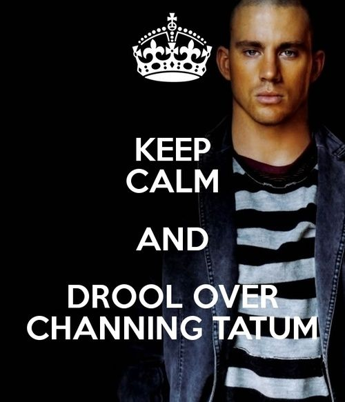 keep calm channing tatum