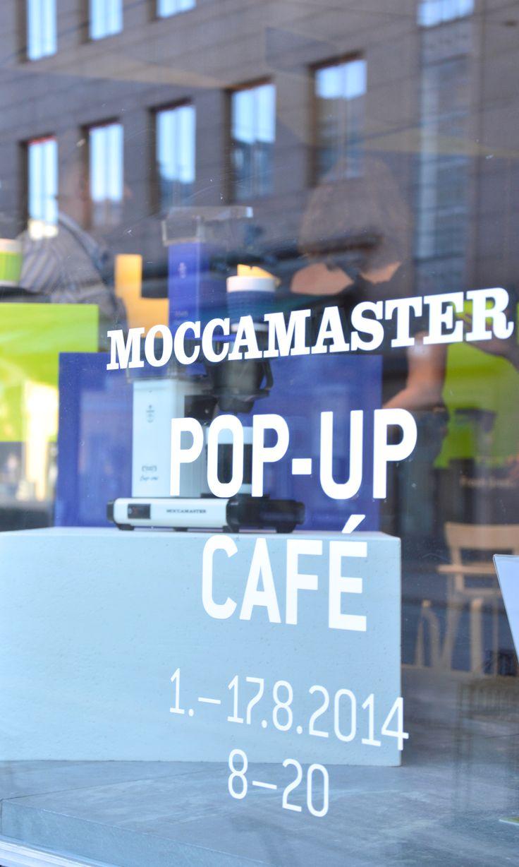 Moccamaster Pop-up Cafe in Helsinki 1.-17.8.2014