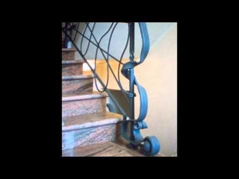 Scale e Ringhiere . Stairs Railing . Martelli Ferro Battuto