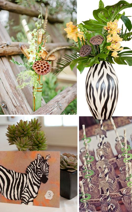 1000 Images About Safari Themed Centerpieces On Pinterest