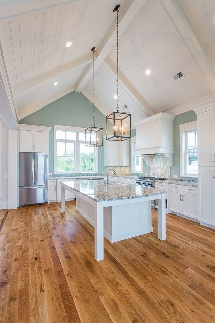 JacksonBuilt Custom Homes- Daniel Island Charleston South Carolina. Vaulted Ceiling KitchenHigh Ceiling LightingVaulted ... : lighting for cathedral ceiling - azcodes.com