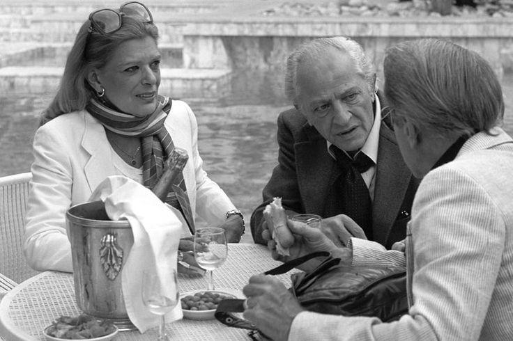 Melina Mercouri et Jules Dassin à Cannes